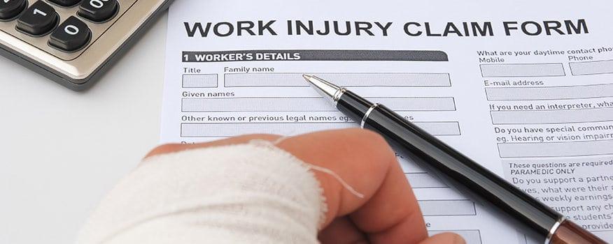Injury Claim Forms